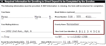 How To Fill Out Direct Deposit Form Nys Dcse Direct Deposit