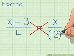 image titled solve rational equations step 2