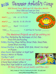 Summer Camp Weekly Schedule Summer Camps