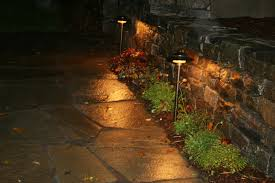 artistic outdoor lighting. path lights to illuminate the front walkway artistic outdoor lighting