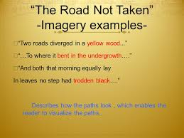 literary terms used in robert frost s poems ppt video online 3 ldquothe road not takenrdquo