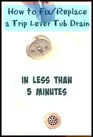 fix bathtub drain stopper lever replace bathtub drain fix bathtub drain how fix bathtub drain lever