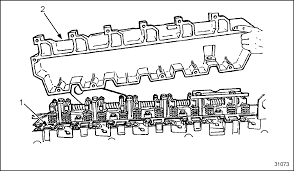 detroit diesel troubleshooting diagrams series 40e valve cover intake manifold