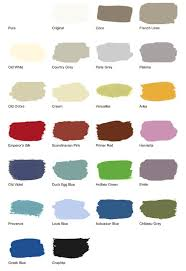 Small Picture Annie Sloan Chalk Paint Colors in comparable wall Behr colors