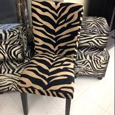 animal print dining chair covers animal print dining chair covers animal print furniture at hobby lobby