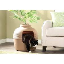 covered cat litter box furniture. Covered Cat Litter Box Hidden With Decorative  Planter Furniture