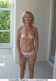 Blonde Milf Housewife Weddingring Topless Smalltits Naturaltits Sheerpanties Mature Tanlines