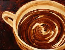 coffee art painting. Interesting Art Painting With Coffee For Art