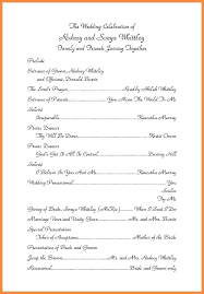 catholic wedding m program template word reception in