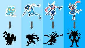 Pokemon Froakie Evolution Chart Alolan Greninja Evolution