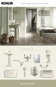 tile floor diy decorations photonus bathroom softer complementary shades accent almond fixtures for a bathroom with