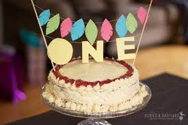 Coconut Flour Birthday Cake With Maple Buttercream Frosting Baby