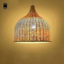 rattan lamp shades hanging lamp shades hanging lamp shade rattan ceiling lamp bamboo wicker rattan shade pendant lights fixture rustic style tatami hanging