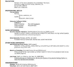 How To Make Simple Resume For A Job How To Make A Simple Resume For A Job Nmdnconference Com Example