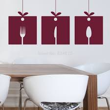 Kitchen Wall Mural Popular Fork Wall Decal Buy Cheap Fork Wall Decal Lots From China