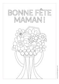 Coloriage Imprimer Pour La F Te Des M Res