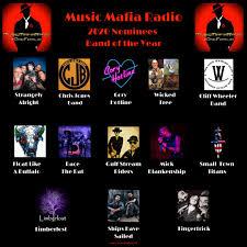 "Music Mafia Radio on Twitter: ""CONGRATS to the Nominees for 2020 MMR Band  of the Year! @strangelyalrite @chrisjonesband @CoryHotlineBand @TreeWicked  @MacWheelMusic @FLAB303 Race The Rat @RidersGulf @MickBlankenship  @SmallTownTitans @Limberlost_Band ..."