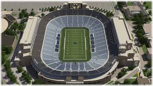Notre Dame Stadium Detailed Seating Chart Ralph Wilson Stadium Online Charts Collection