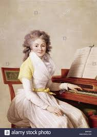 people women wife of a composer painting circa 1800 woman