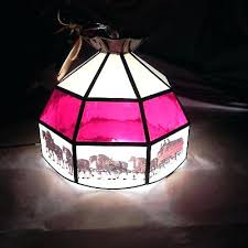 antique stained glass hanging lamps lamp pendant style art light bar living room suspen