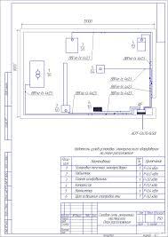 Курсовые и дипломные проекты по электроснабжению Чертежи РУ Курсовой проект Электроснабжение ремонтной мастерской предприятия АПК