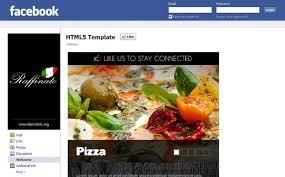 Pizza Facebook Template 38890