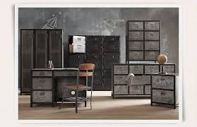 image of metal locker dresser set