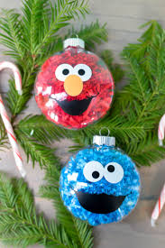 Sesame Street Bedroom Decorations Diy Sesame Street Ornaments Hey Lets Make Stuff