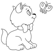 Small Picture Kitten Coloring Pages Printable Best Disney Aristocats Coloring