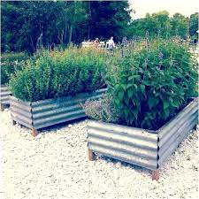 best metal mostly garden beds images on raised recycled corrugated uk urban rden with outd