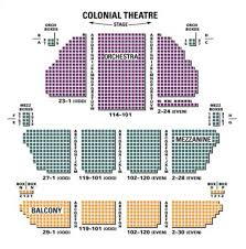 Colonial Theater Seating Chart Plaza Suite