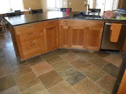 Slate Floor Tile Kitchen Copper Slate Floor Pacific Crest Granite