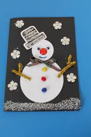 Easy Christmas Card Craft For Kids  Growing Up BilingualChristmas Card Craft Ideas