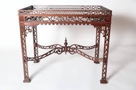 fretwork furniture. Baker Furniture Mahogany Fretwork Chinese Chippendale Tea Table L
