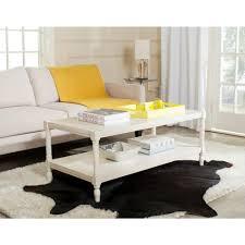 bela white coffee table