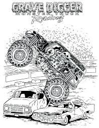 Monster Trucks Coloring Pages Coloring Pages Monster Trucks Blaze