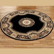 elegant medallion round rug