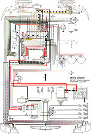 thesamba com type 3 wiring diagrams 1966 usa