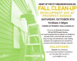 Community Clean Up Flyer Template Fall Clean Up Flyer Template Saturday Signup Heart Of The City