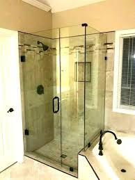 remarkable frameless shower door shower door cost shower door installation cost sliding shower