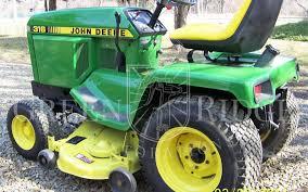 diesel garden tractor. The Elusive John Deere 330 Diesel Lawn Tractor Garden