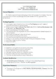 Tester Resumes Manual Testing Sample Resumes Manual Testing Resume Sample Tester