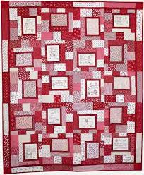 12 best quilts redwork or other color images on Pinterest ... & Redwork Quilt (stitcheries from Love Covers Machine Embroidery CD) Adamdwight.com