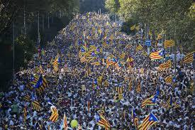 Resultado de imagen de Diada 2017 Barcelona