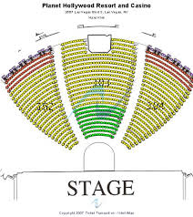 Axis Theatre Planet Hollywood Seating Chart Www