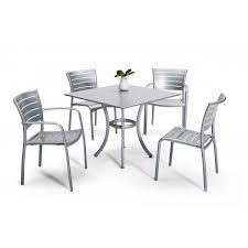 Restaurant Aluminum Patio Furniture Including Outdoor Tables