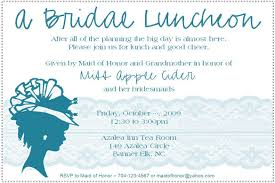 Bridal Shower Invitation Samples Bridal Brunch Invitation Wording Bridal Shower Invitations 17