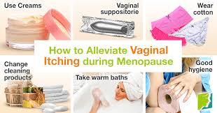 How to Alleviate Vaginal Itching during Menopause