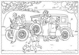 Small Picture History Colouring Pages for Kids