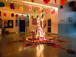 Diwali decoration ideas for office Diwali Party Diwali Decorations In Office With Honeycomb Balls Quotemykaamcom 42 Splendid Beautiful Diwali Decoration Ideas For Office